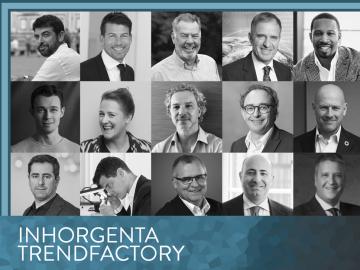 INHORGENTA TRENDFACTORY #ReInspire with top-class speakers