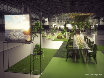 Draft of the design from hall C2