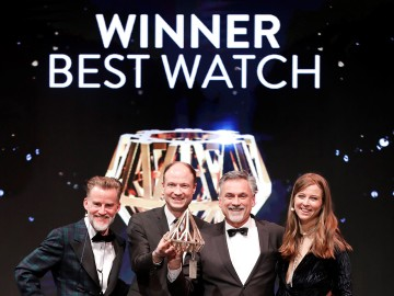 "Gewinner der Kategorie ""Public Choice – Best Watch"""